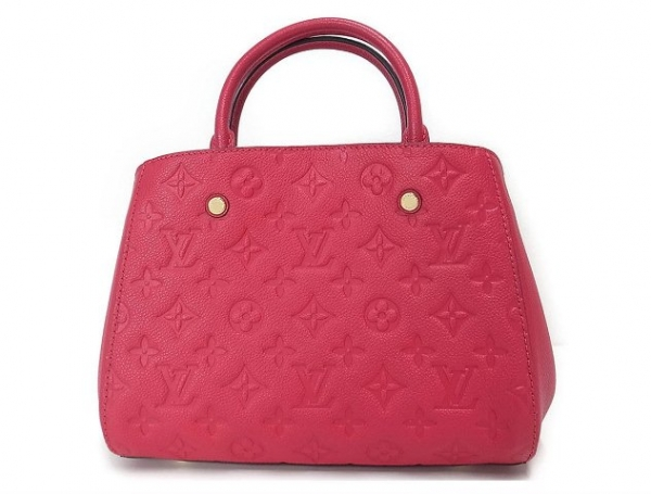 S Túi Louis Vuitton montaigne BB màu hồng M50038