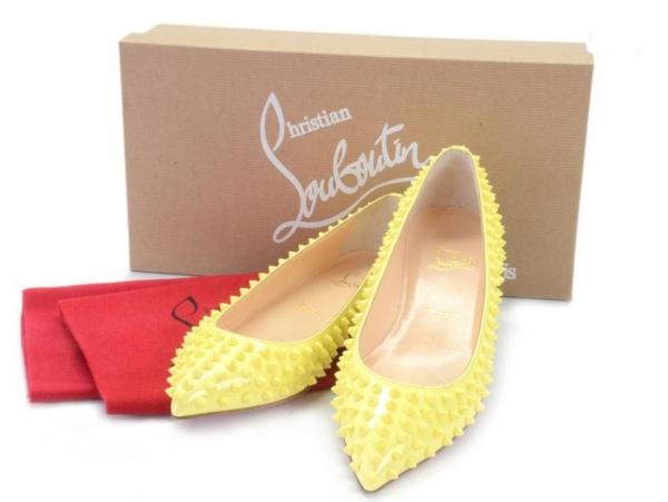 S Giày Christian Louboutin size 38 màu vàng