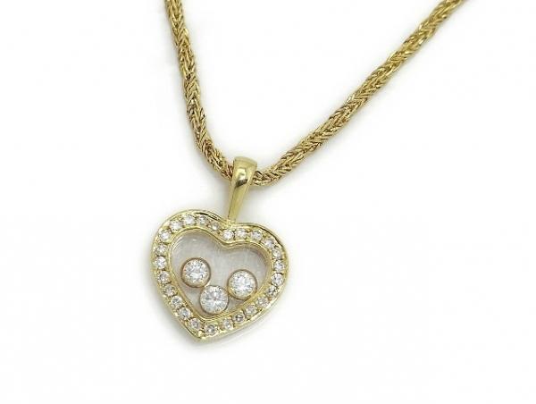 MS4610 Vòng cổ Chopard trái tim K18YG kim cương