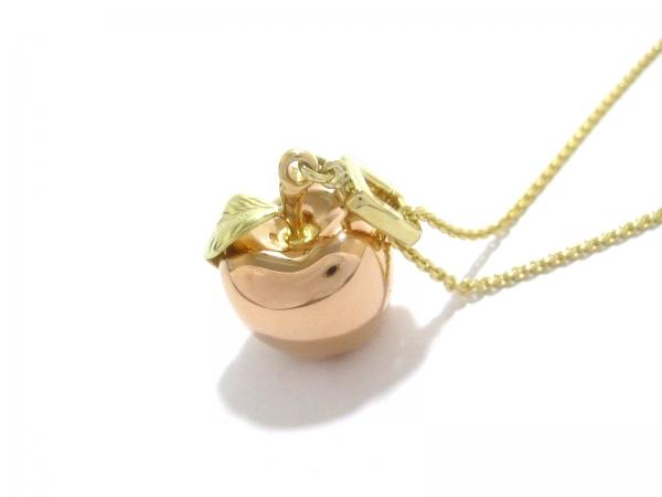 Vòng cổ Louis Vuitton quả táo vàng K18YG/PG