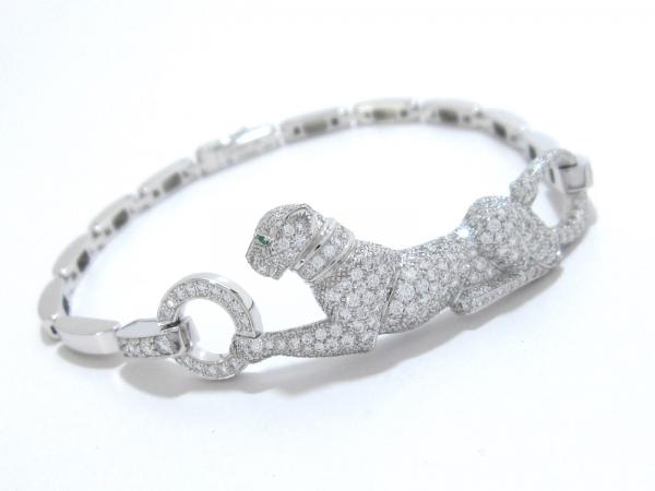 S Vòng tay Cartier K18WG kim cương
