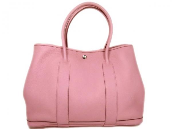 SA Túi xách Hermes garden party màu hồng