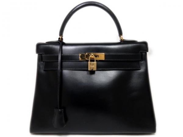 Túi xách Hermes Kelly 32 màu đen