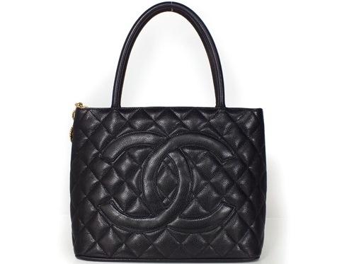 SA Túi Chanel caviar tote màu đen