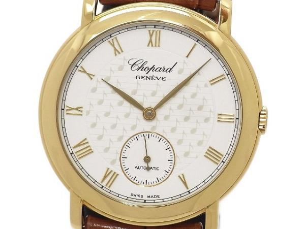 Đồng hồ Chopard K18YG dây da của nam