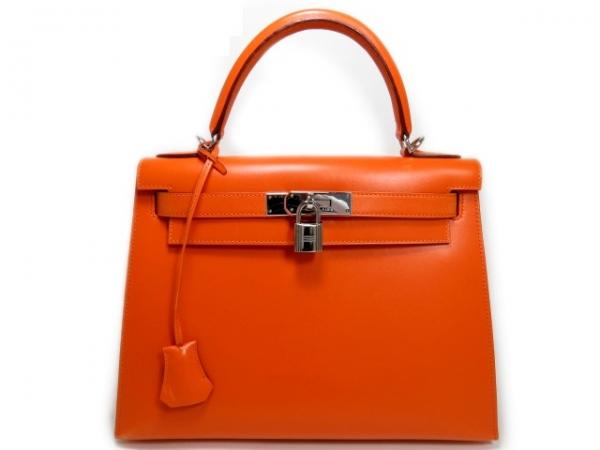 Túi xách Hermes kelly 28 màu cam đỏ