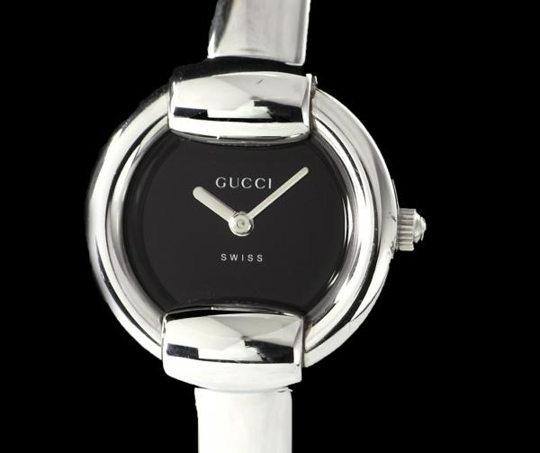 MS4344 Đồng hồ Gucci 1400L mặt đen