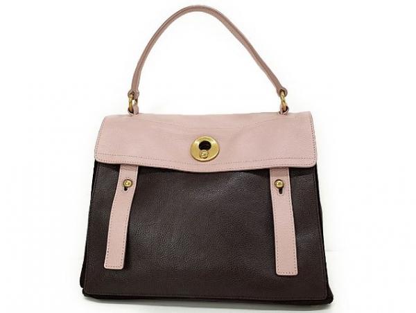 Túi xách Yves Saint Laurent đen hồng
