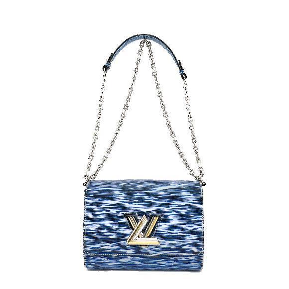S Túi xách Louis Vuitton Twist MM Denim