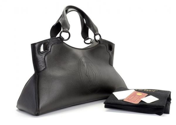S Túi xách Cartier màu đen L1000828