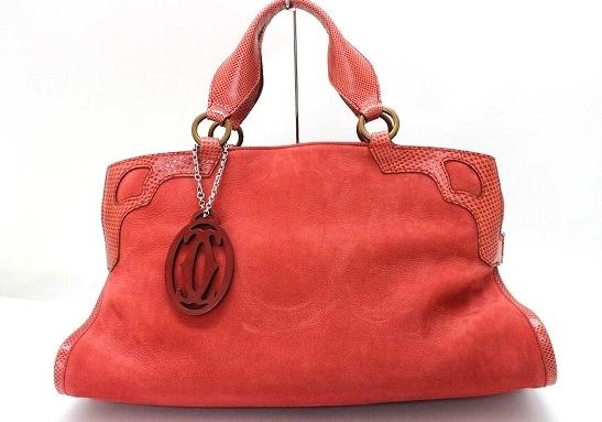 Túi xách Cartier màu đỏ