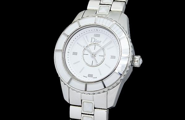 Đồng hồ hiệu Christian Dior nữ CD112112 màu trắng