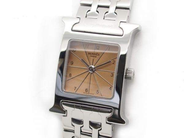 Đồng hồ Hermes mặt số nâu HH1.210