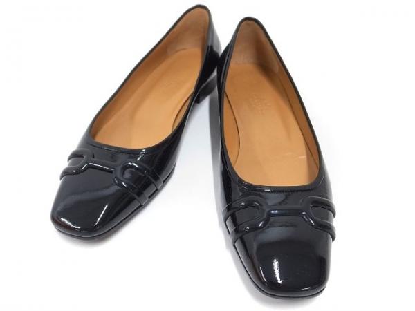 SA Giày Hermes màu đen size 37