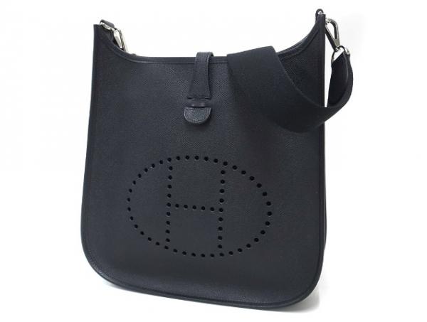 Túi Hermes Evelyn PM đeo chéo màu đen