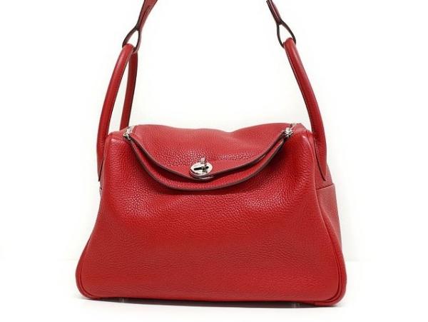 Túi Hermes Lindy 30 màu đỏ