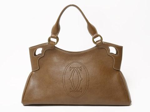 Túi xách Cartier màu nâu
