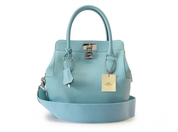 NEW Túi Hermes toolbox màu xanh
