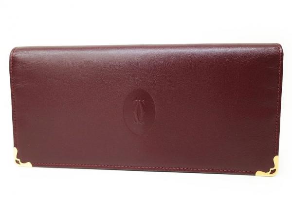Ví da nữ Cartier L3000466 màu đỏ đô