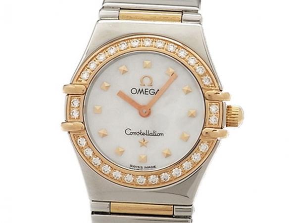 Đồng hồ Omega kim cương 1.368,71 màu trắng
