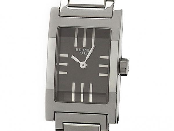 Đồng hồ nữ Hermes TA1.210 màu xám