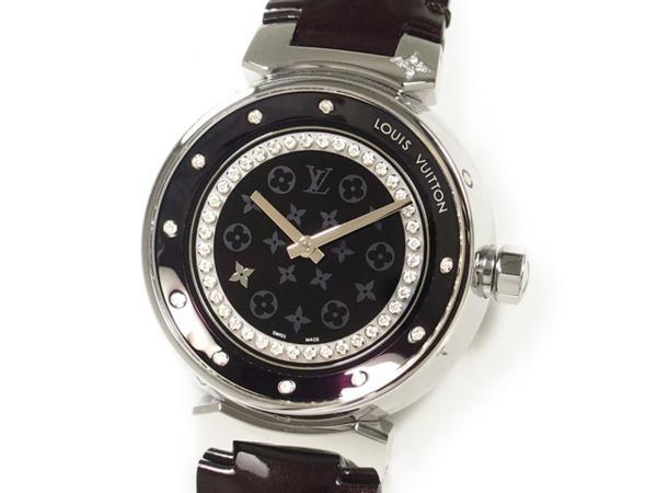 SA Đồng hồ Louis Vuitton kim cương dây da