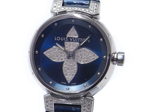 Đồng hồ nữ Louis Vuitton xanh hải quân