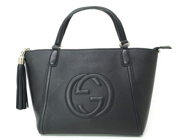 S Túi xách nữ Gucci Soho màu đen 369.176