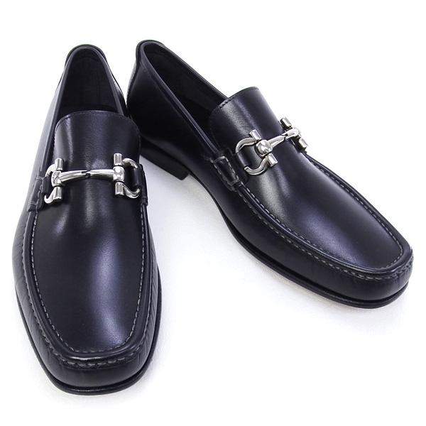 NEW Giày Ferragamo đen GIORDANO 2016