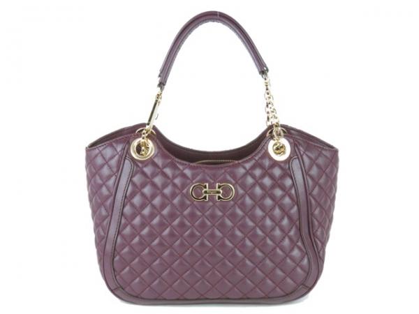 Túi xách Ferragamo màu tím 21E106