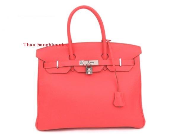 Túi xách Hermes birkin 35 rose jaipur