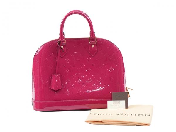 MS5028 Túi Louis Vuitton alma MM hồng rose indian