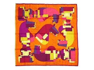 NEw khăn Hermes lụa 90 Echec