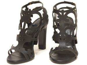 NEW Sandal Hermes màu đen size 35 1/2