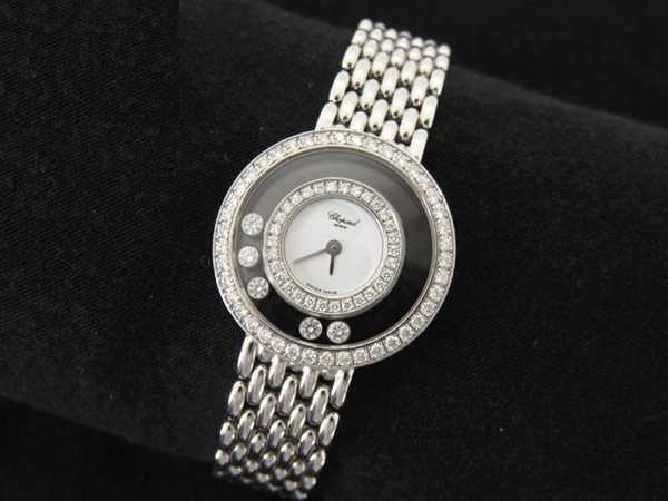 SA Đồng hồ Chopard 750WG happy diamond