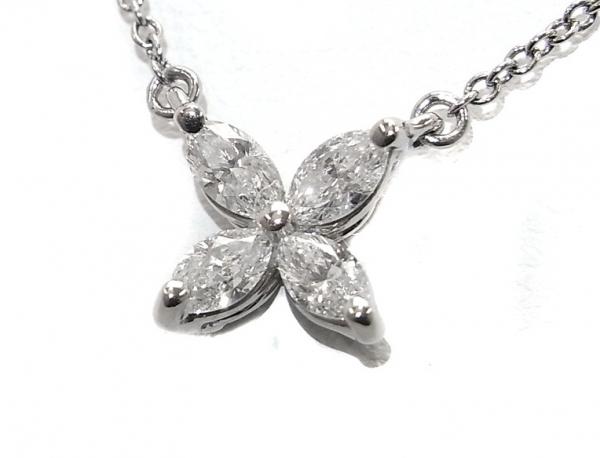 SA Vòng cổ Tiffany&Co Pt950 kim cương