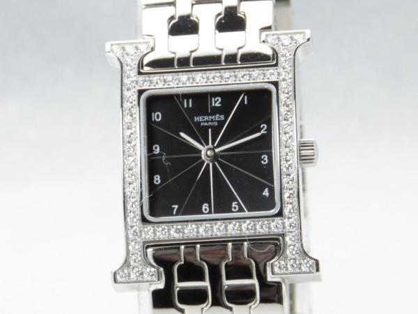 Đồng hồ Hermes kim cương HH1.230