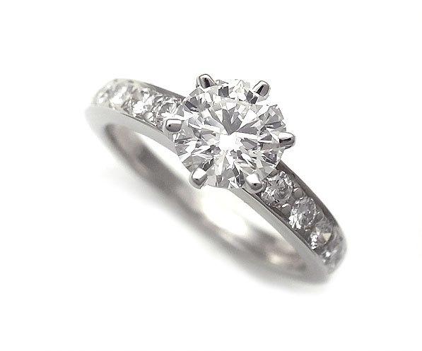 Nhẫn kim cương Tiffany & Co 0.85ct size 7.5