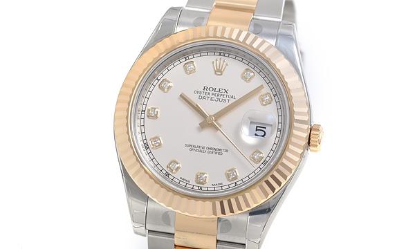 NEW Đồng hồ Rolex datejust 116333G kim cương