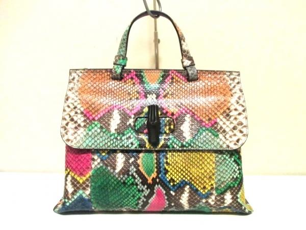 Túi xách Gucci đa sắc da trăn 392013