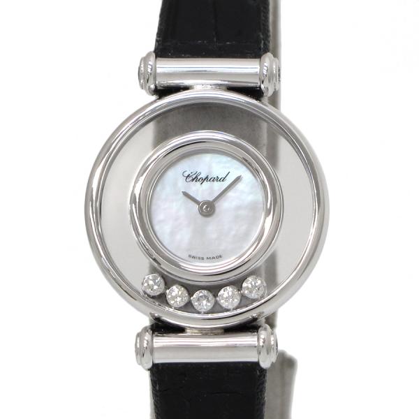 Đồng hồ Chopard dây da happy diamond nữ