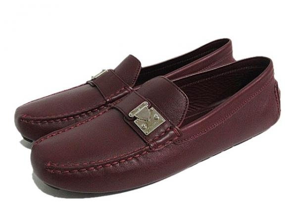 S giày Louis Vuitton màu đỏ mận size 37