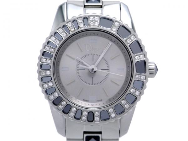 Đồng hồ Christian Dior CD1121 xám bạc