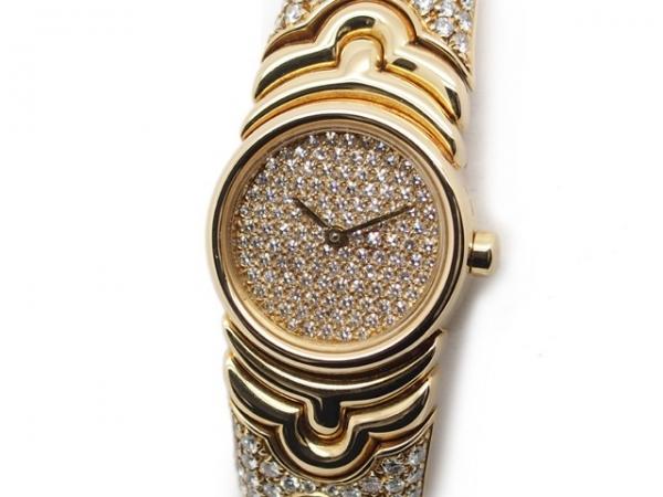 Đồng hồ Bvlgari K18YG kim cương BJ01