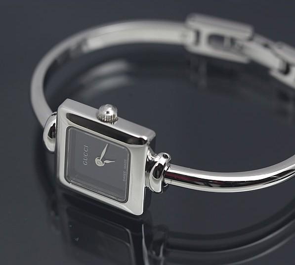 MS5011 Đồng hồ Gucci 1900L mặt đen vuông