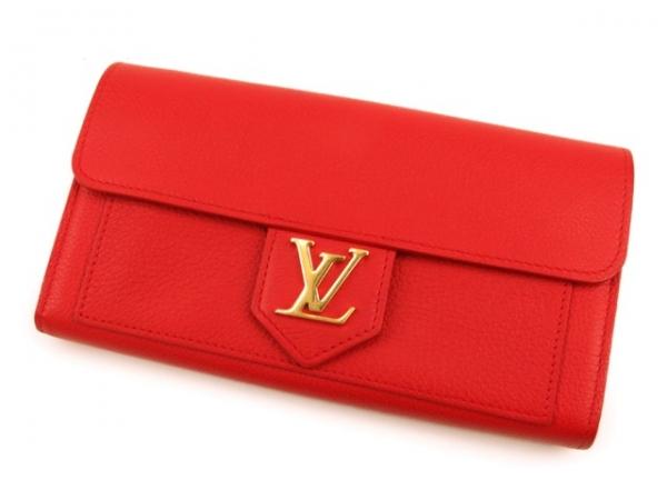 Ví da Louis Vuitton màu đỏ M61277