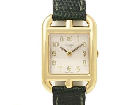 Đồng hồ Hermes của nữ K18YG dây da