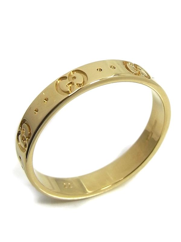 SA Nhẫn Gucci logo vàng K18YG size 21
