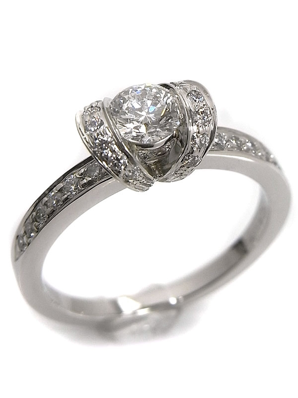 SA Nhẫn Tiffany&Co Pt950 kim cương size 12