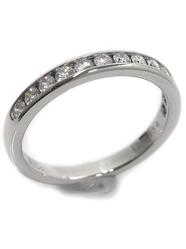 SA Nhẫn Tiffany&Co Pt950 kim cương size 15